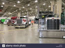 100 Great American Trucking 170825 DALLAS Aug 25 2017 Xinhua A Man Visits The