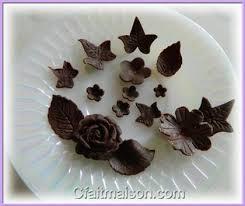 decoration patisserie en chocolat faire sa pâte à chocolat à modeler ses décors en pâte de chocolat