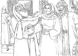 The Presentation Of Jesus At Temple Coloring Pages New In Page