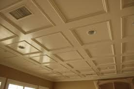interior modern ceiling panels ideas for office with recessed