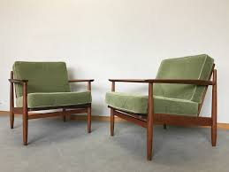 Pair Of Danish Armchairs In Teak And Green Velvet - 1960s - Design ... Vintage Danish Chair 1960s Homestore 79 Best Chairs Images On Pinterest Fniture Mid Century Deluxe Nagila Vintage Armchair With Tasmian Blackwood Danish Modern Design Armchairs From 70s In Hoxton Nyc Midcentury Scdinavian Fniture Reupholstery Custom Teak Model 56 By Grete Jalk For Poul Sven Aage Madsen A Pair Of No 175 Armchairs Sven Aage Leather Elbow Franke Beech From Farstrup 1950s Set Of For Sale At Two At 1stdibs