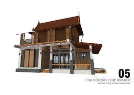 100 Thai Modern House Designer HubTHAI MODERN HOUSE RAIROT SHPHANBURIPORTFOLIO Architecture