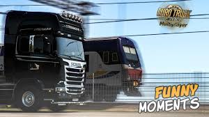 100 Funny Trucking Pictures Euro Truck Simulator 2 Multiplayer Moments Crash Compilation