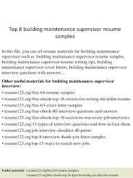 Building Maintenance Resume Sample Create Electrical Technician