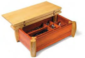 Wood Jewelry Box Plans Beginner Woodworking Project