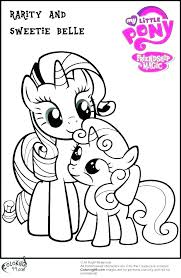 My Little Coloring Pages Pony Color Baby Of The Applejack
