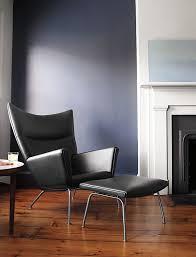 Flag Halyard Chair Replica by Hans J Wegner Reclining Wing Chair U0026 Footrest Replica