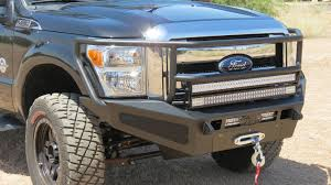 100 Truck Bumpers Aftermarket 2011 2016 Ford F250F350 HoneyBadger Rancher Winch Front Bumper
