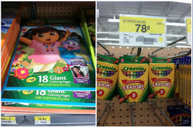 Crayola Giant Coloring Book Crayons Only 475 Great For