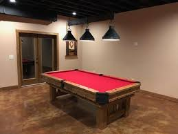 the 25 best pool table lighting ideas on industrial