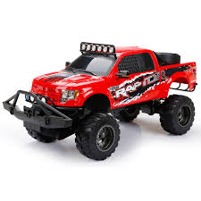 Ford F-150 Raptor Truck 1:6 Scale Radio Control RC New Bright LED ... 9 Best Rc Trucks A 2017 Review And Guide The Elite Drone Tamiya 110 Super Clod Buster 4wd Kit Towerhobbiescom Everybodys Scalin Pulling Truck Questions Big Squid Ford F150 Raptor 16 Scale Radio Control New Bright Led Rampage Mt V3 15 Gas Monster Toys For Boys Rc Model Off Road Rally Remote Dropshipping Remo Hobby 1631 116 Brushed Rtr 30 7 Tips Buying Your First Yea Dads Home Buy Cars Vehicles Lazadasg Tekno Mt410 Electric 4x4 Pro Tkr5603