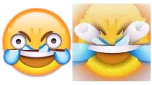 Open Eye Crying Laughing Emoji