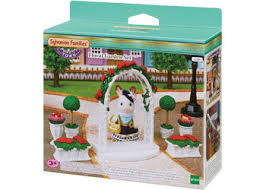 sylvanian families floral garden set enchanted years