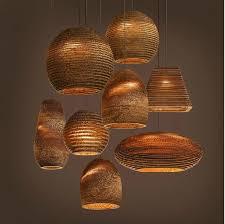 nordic hause karton papier designer pendelleuchte esszimmer licht indoor dekoration leuchte free e27 verschiffen free