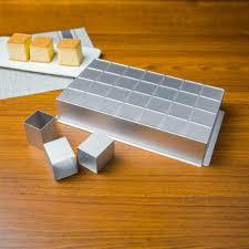 details zu rechteckige kuchen form aus aluminium legierung back blech buchstaben numme f9n5