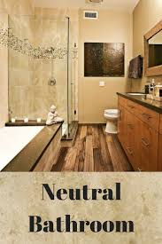 Great Neutral Bathroom Colors by The 25 Best Tan Bathroom Ideas On Pinterest Pebble Tile Shower