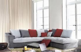 meuble et canape canapé d angle à droite majorca gris foncé gris perlé