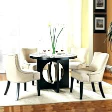 Small Round Dining Set Room Tables Elegant Modern For 4