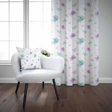 sonst weiß boden lila grün floral blume blatt 3d decor drucken wohnzimmer schlafzimmer 1 panel set vorhang kombinieren geschenk kissen fall