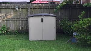 Suncast Horizontal Utility Shed by Suncast Bms4900d Glidetop Slide Lid Shed Review What A Great
