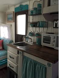 Vintage Camper Trailer Interior Remodel Ideas