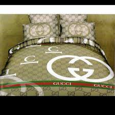 Gucci 4 piece Gucci Bedding Set from J s closet on Poshmark