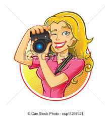 graphy clipart female photographer 11