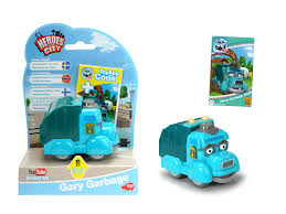 HEROES OF THE CITY, GARY GARBAGE TRUCK | Heroes Of The City At TOYS