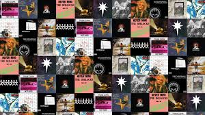 Smashing Pumpkins Greatest Hits Download by Thrice Tiled Desktop Wallpaper