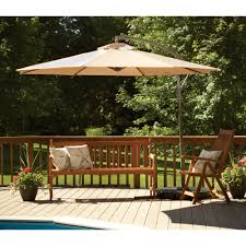 Solar Lighted Rectangular Patio Umbrella by Decor Fresh Rectangular Patio Umbrella With Solar Lights Ideas
