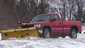 100 Truck With Snow Plow For Sale 2000 CHEVROLET SILVERADO 2500 TRUCK WITH 8 SNOW PLOW YouTube