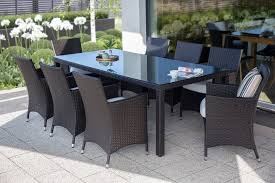 Wicker Patio Dining Table For 8 - ITALY