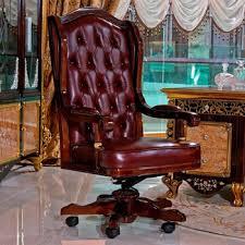 chaise de bureau chesterfield yb61 de luxe antique vintage chesterfield en cuir chaise de bureau