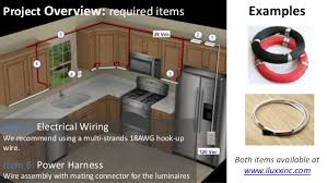 how to install cabinet lighting in your kitchen wiring