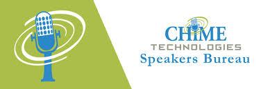speaker bureau chime speakers bureau healthcare it chime