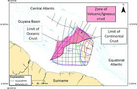 Where Does Seafloor Spreading Take Place by Demerara Rise Offshore Suriname Magma Rich Segment Of The