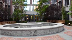 100 West Village Residences Sponzilli Landscape Luxury Courtyard Landscaping At NYC