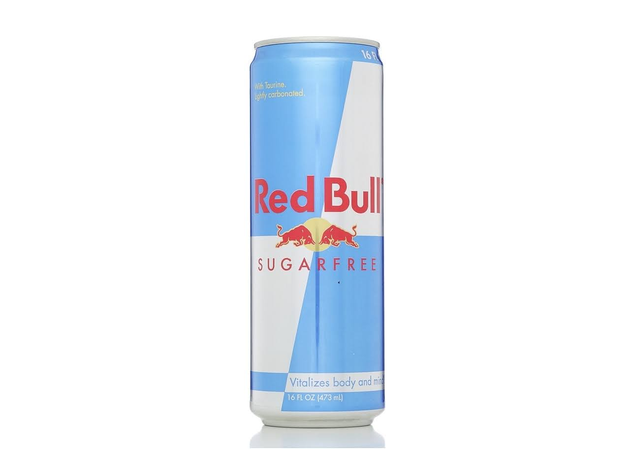 Red Bull Sugarfree Energy Drink - 16 Oz