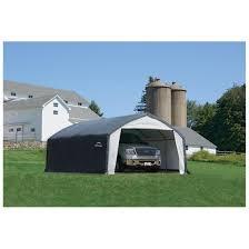 Shelterlogic Run In Sheds by Shelterlogic Accelaframe Hd Shelter 12 U0027 X 20 U0027 X 9 U0027h 668655