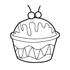 Ice Cream In Cup Coloring Page