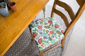 How To Re-Cover A Dining Room Chair | HGTV Delightful Reupholster Ding Chair Seat And Back Of 6 Ding Table Chairs How To A With Pictures Wikihow Six Art Deco Chairs French Moustache Use Recover Image Of Casual Reupholstering Room Fabric Pazzodalcarlocom Room 4 Steps We Recover Fully Upholstered In New Fabric Faux Leather The 100 Images How American Midcentury Designed By John Keal Fascating Much To Sofa Do It Yourself