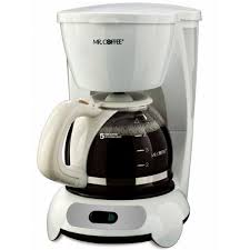 Mr Coffee TF6 5 Cup Switch Coffeemaker White