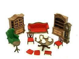 playmobil möbel nostalgie wohnzimmer für puppenhaus spielset