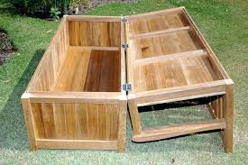 Outdoor Wooden Benches Outdoor Wood Storage Bench Wooden Garden