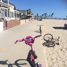 Photo Of Huntington Beach Bicycle Trail