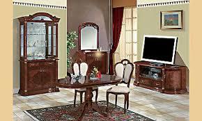 eckvitrine wohnzimmer esszimmer eckschrank nussbaum