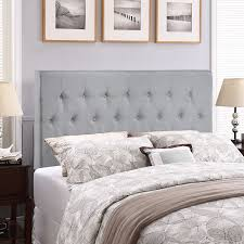 Wayfair Metal Queen Headboards by Amazon Com Modway Clique Upholstered Tufted Button Fabric