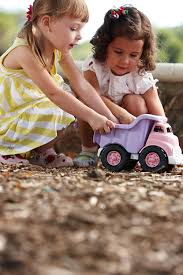 Green Toys Dump Truck - Pink: Green Toys: Amazon.ca: Toys & Games