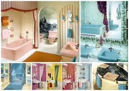 60 vintage 60s bathrooms retro home decorating ideas