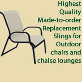 Replacement Slings For Patio Chairs Dallas Tx by Patio Furniture Parts And Slings For Fl Ga Tx Nc Sc Al